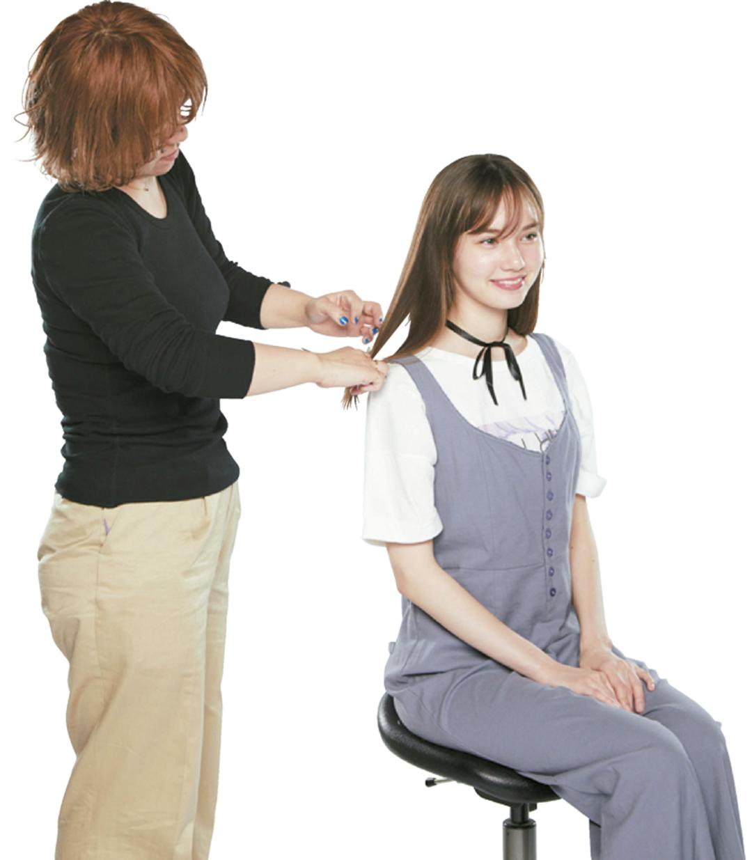JK節約テク④ カットモデルになって髪を切る