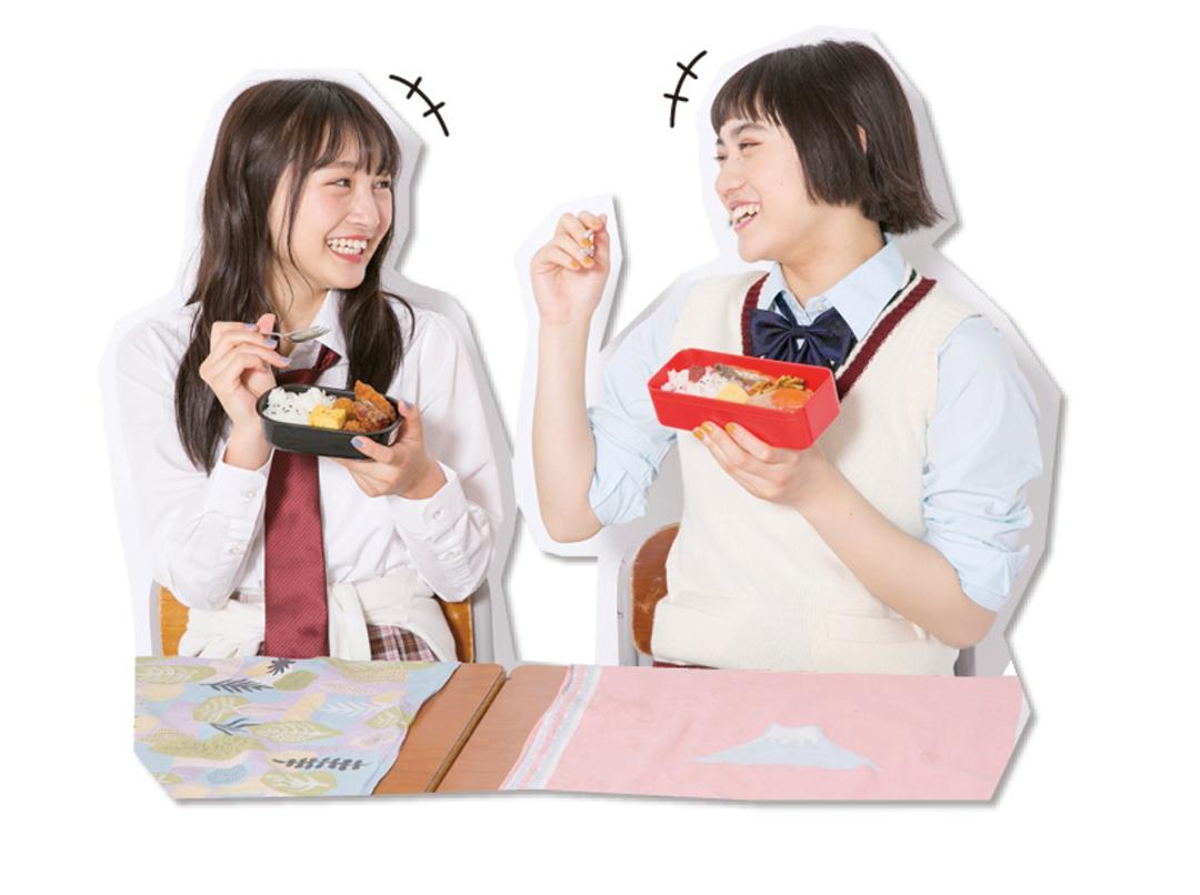 【テク①】いっしょにお弁当を食べる