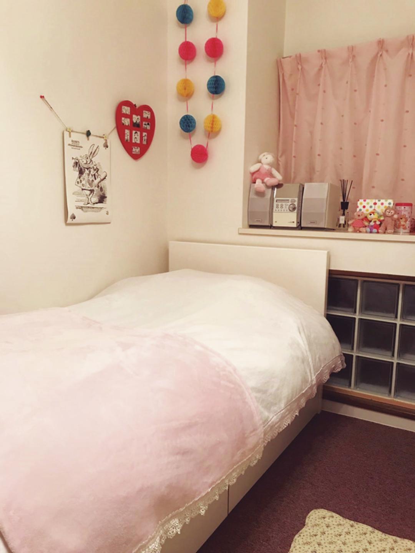これが莉子のMy Room♡
