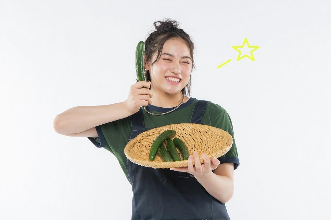 簡単で優秀なきゅうりダイエット、莉佳子と始めよう!