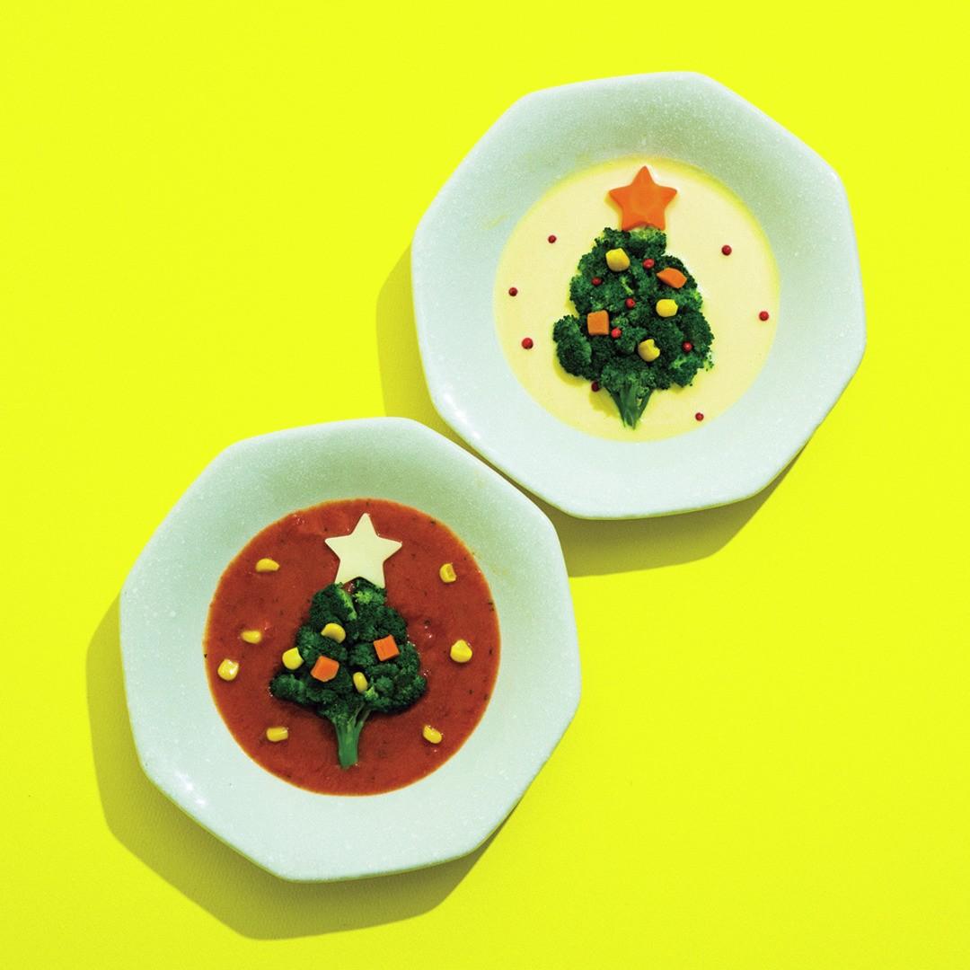 ♥クリスマスツリースープ