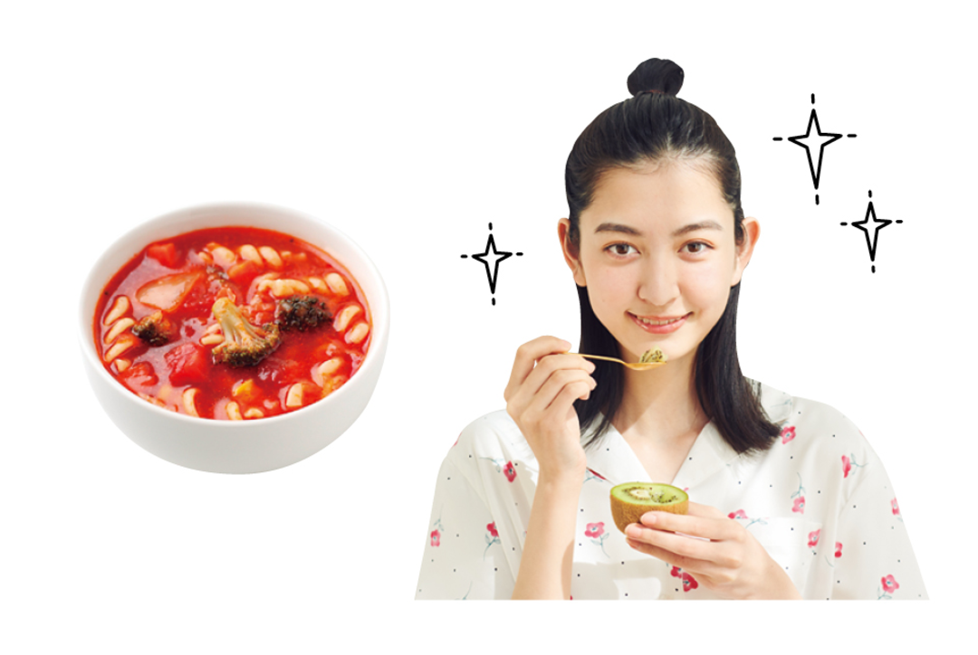 【予防策①】朝ごはんはビタミンCやリコピンをとる!