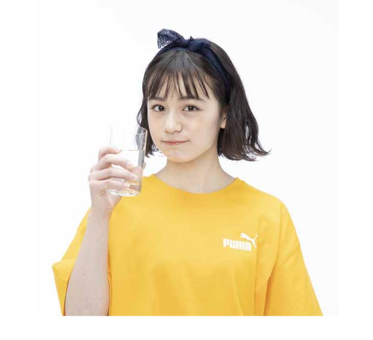 【CHECK 3】上手に水を飲み込める?