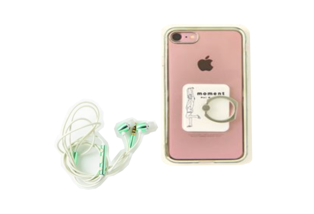 iPhone&イヤホン