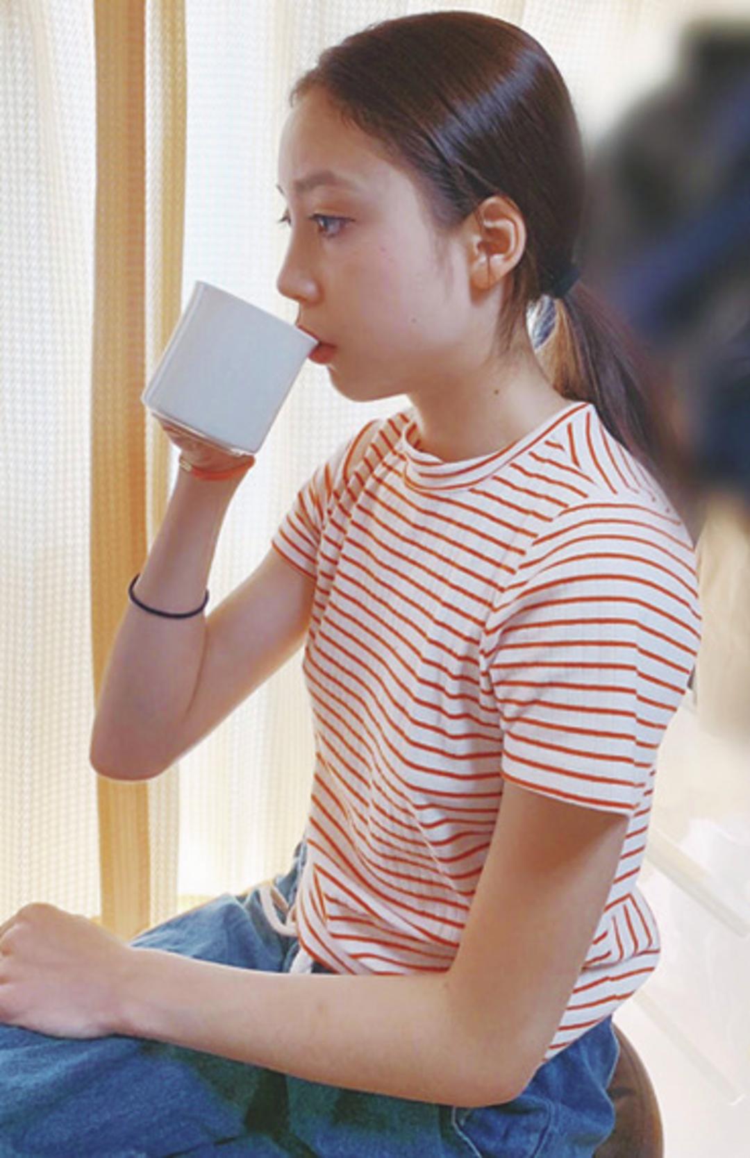 [やってるコト1]朝イチでお白湯をコップ1杯