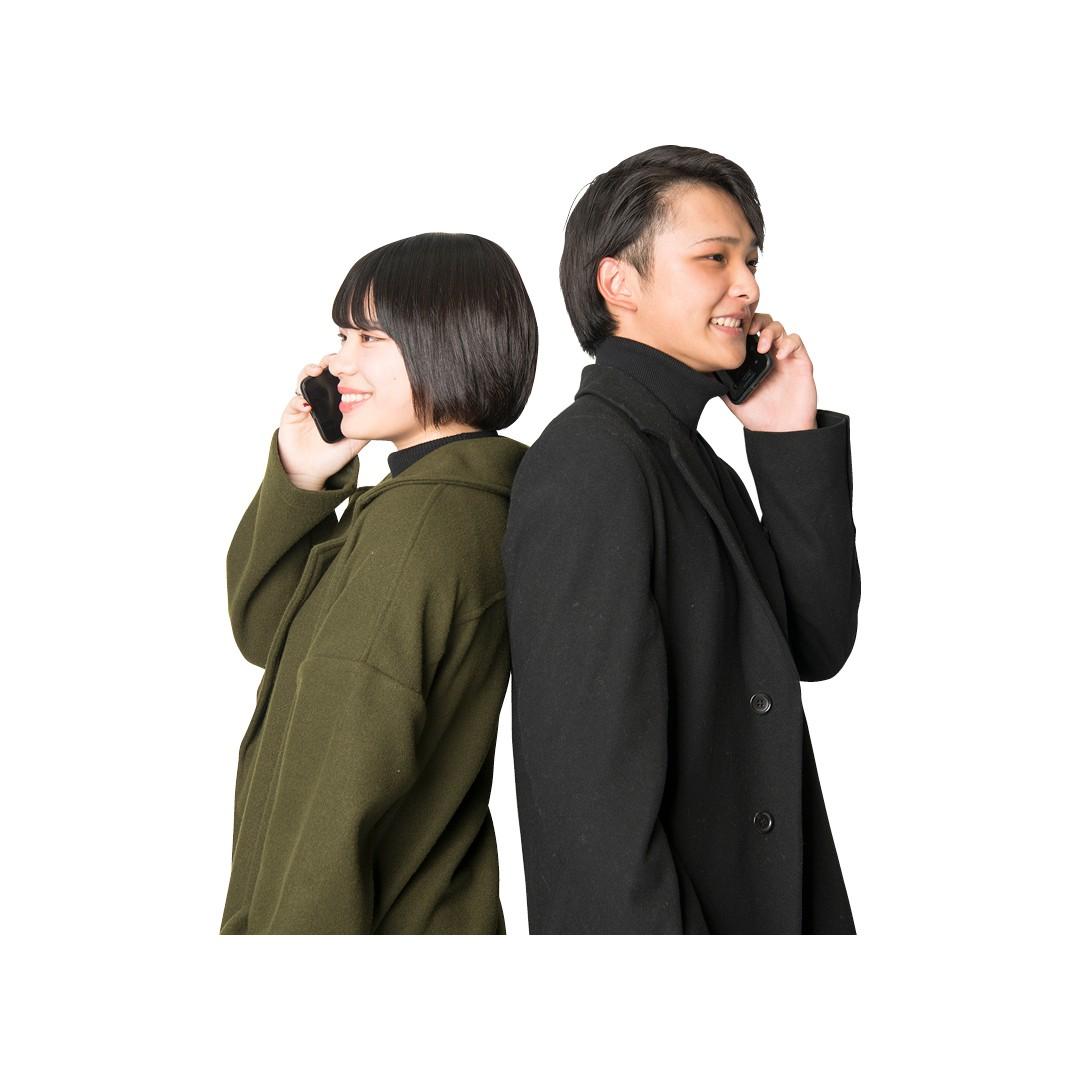 遠距離だから、電話での告白でした!