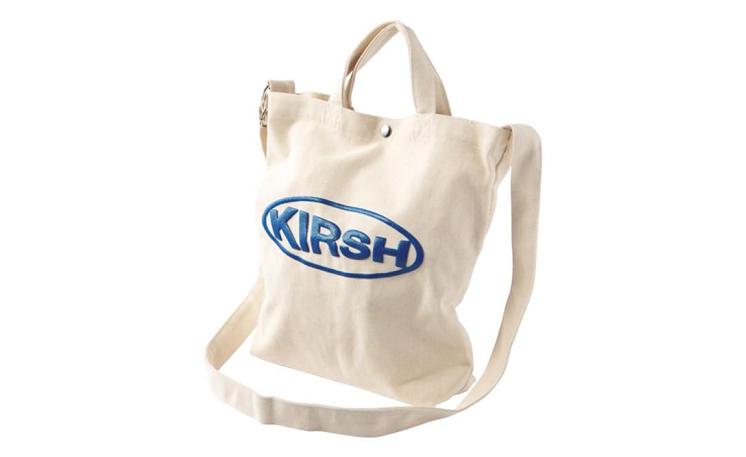 D KIRSH サークルロゴ トートバッグ