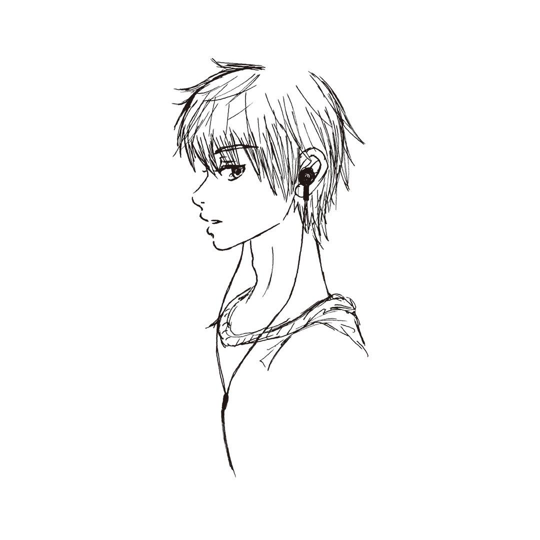 黒崎レイナ画・「理想の男子像」