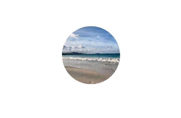 【モテ】顔出しNGなら、海や空などのきれいな風景にしておく