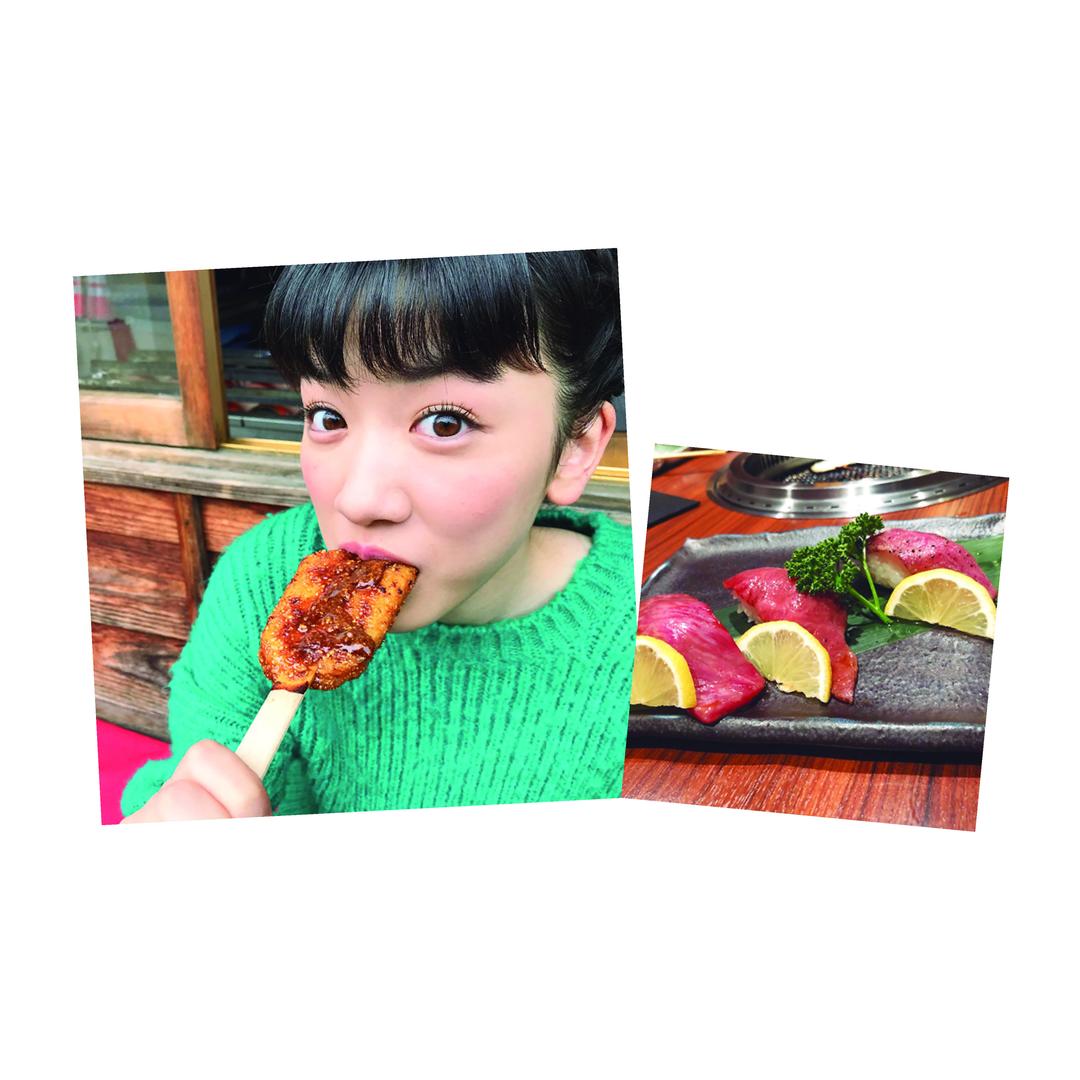 """永野芽郁ちゃんは""""いろんなおいしいご飯"""""""