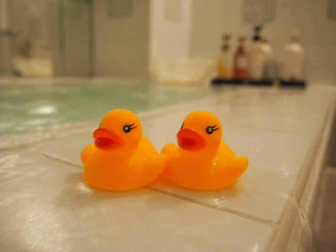 ⑤お風呂は湯ぶねにしっかりつかる