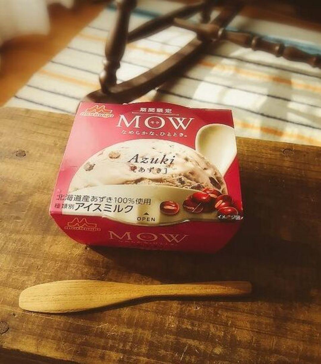 """""""MOW""""の期間限定&数量限定アイス"""
