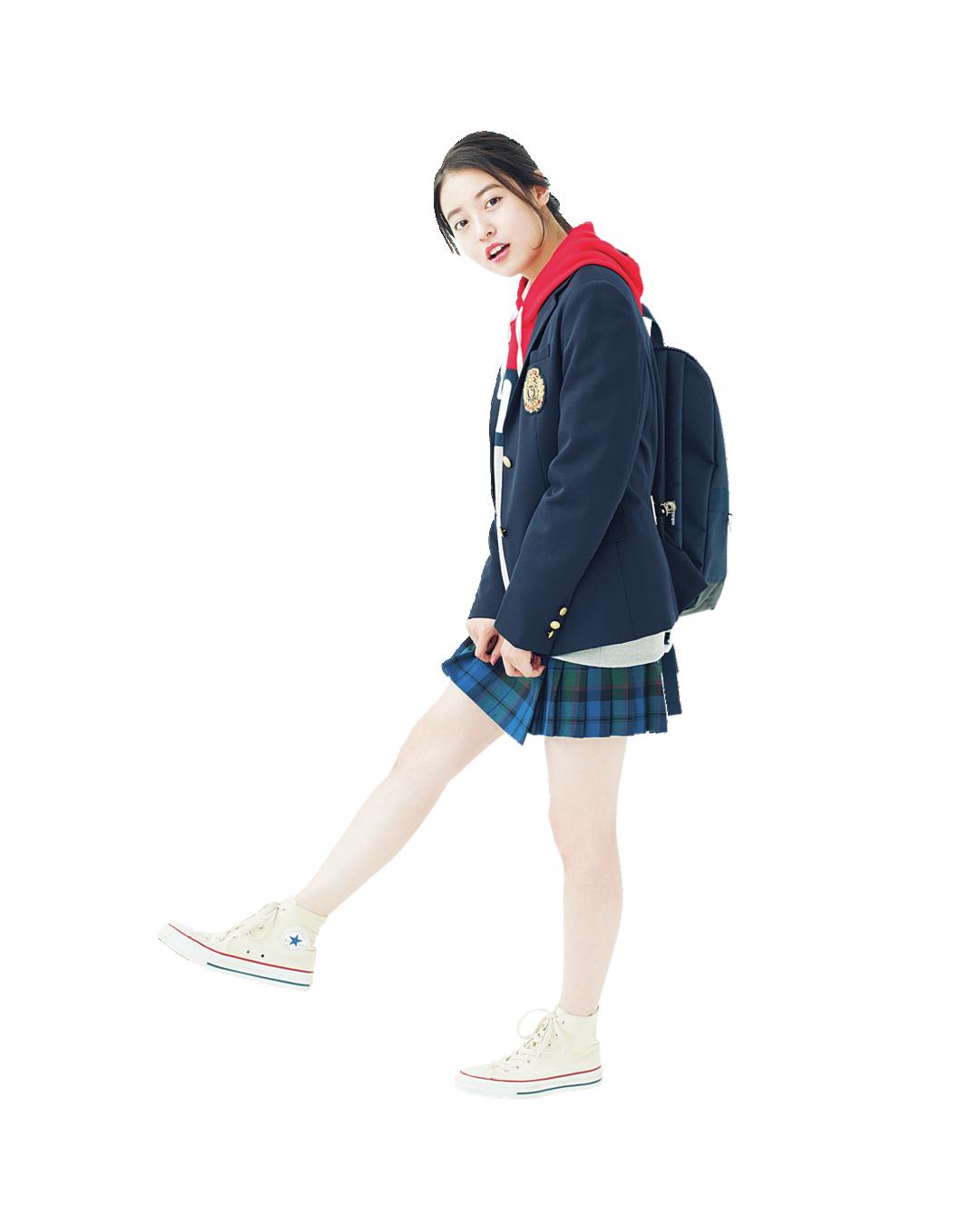 カジュアルな制服コーデにマッチ♡