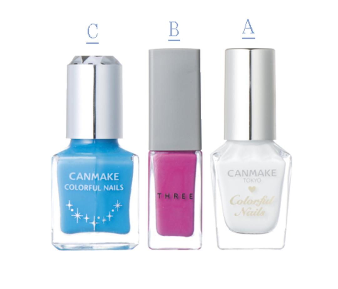 白をベースに、好きな色を選んで