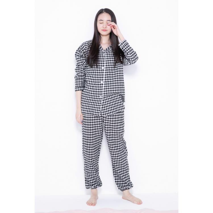 【3位】陽名のチェックパジャマ