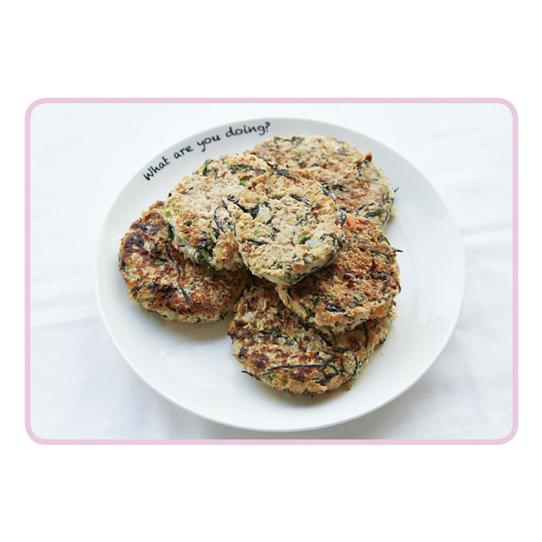 ♥作りおき【豆腐ハンバーグ】レシピ
