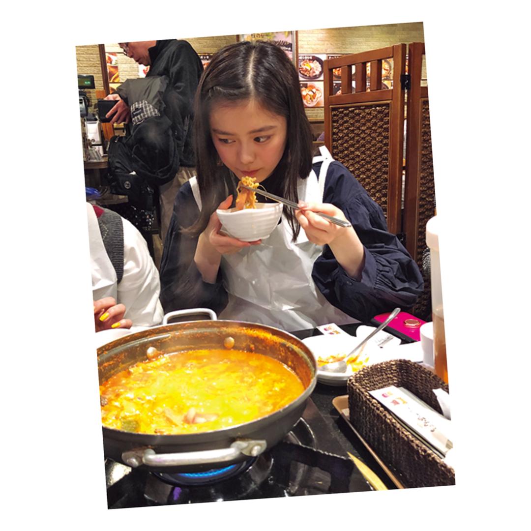 こんちゃんは韓国料理で代謝UP!