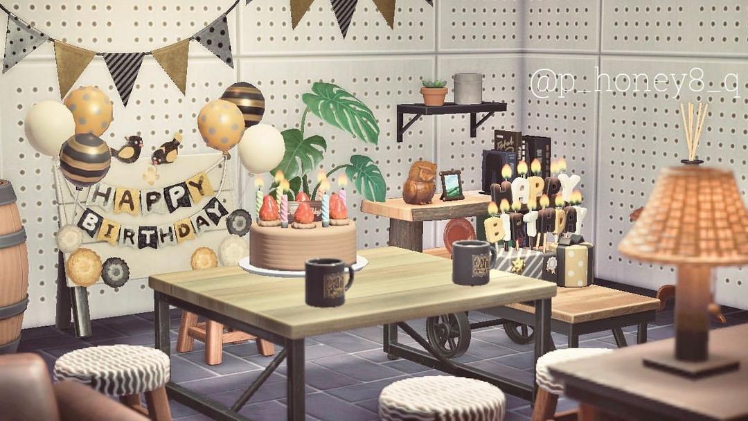 おうちで誕生日パーティーをイメージ!