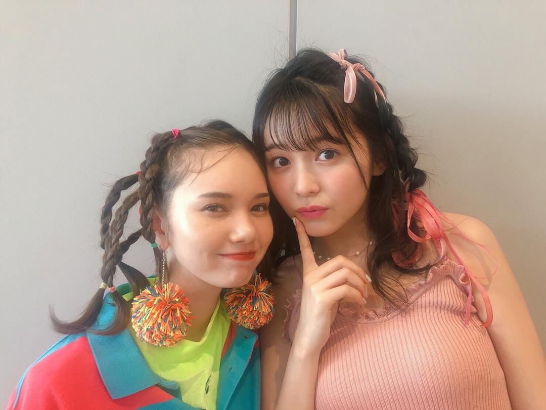りんくまちゃんはTHE 女のコ、マーシュちゃんはカラフル元気なヘアメイク!