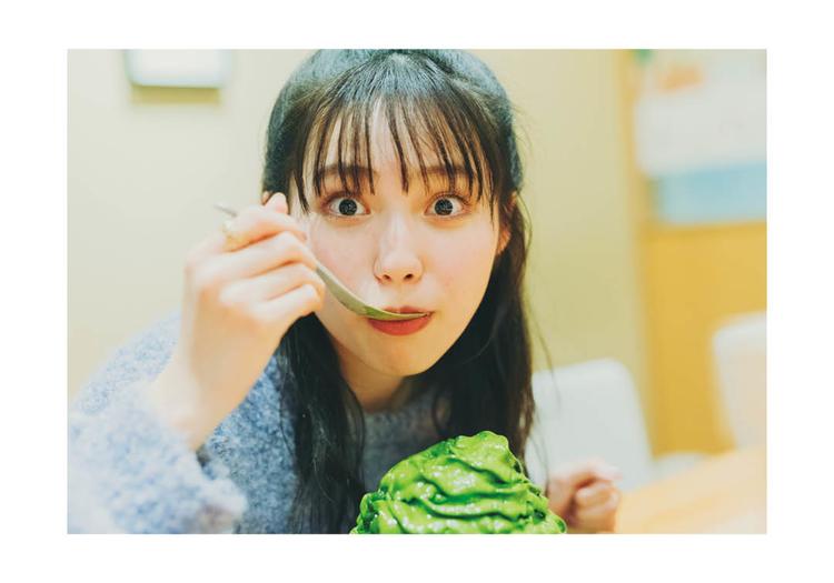 """清水一芳園の宇治抹茶氷エスプーマ仕立て""""かめ"""""""