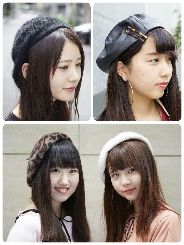 """今年っぽい帽子といえば! な""""ベレー帽"""""""
