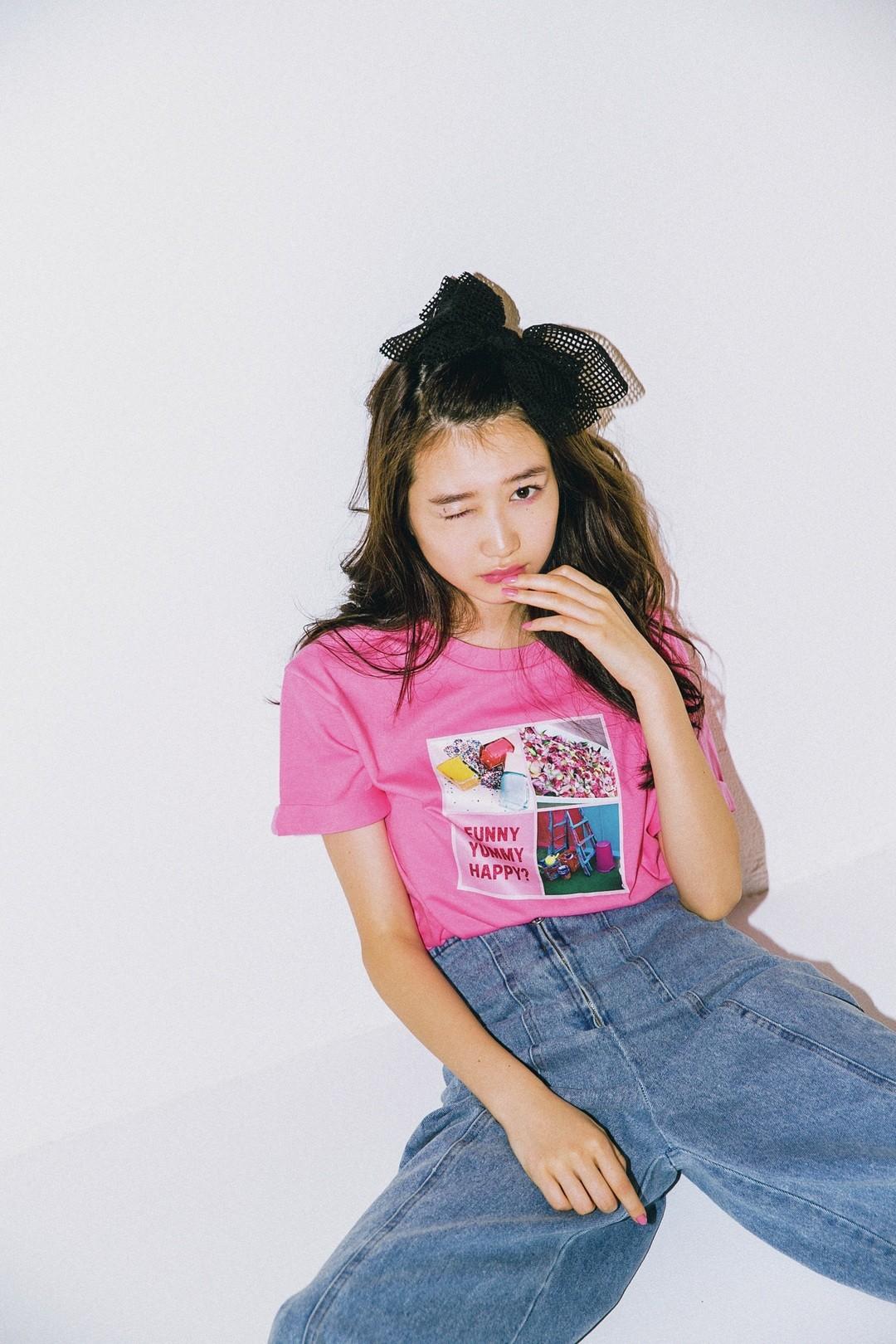 STモ岡本夏美's♥ BUBBLESコラボT