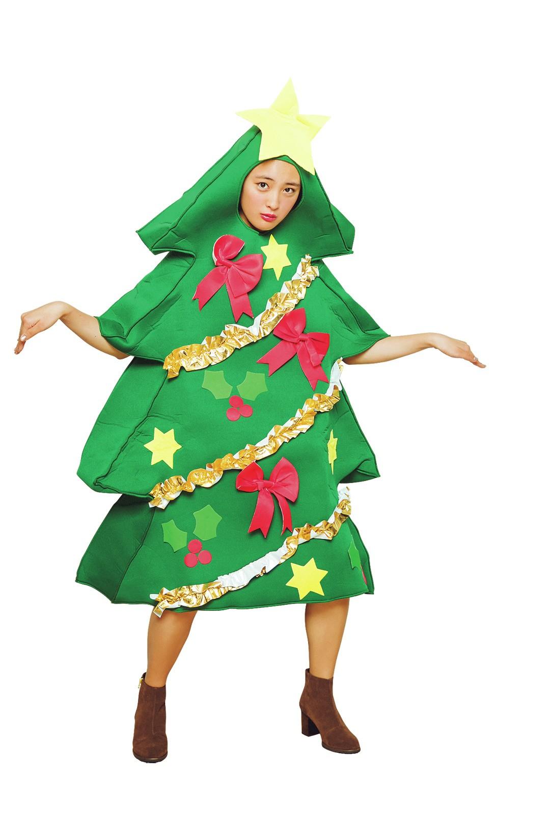 大友花恋はクリスマスツリー