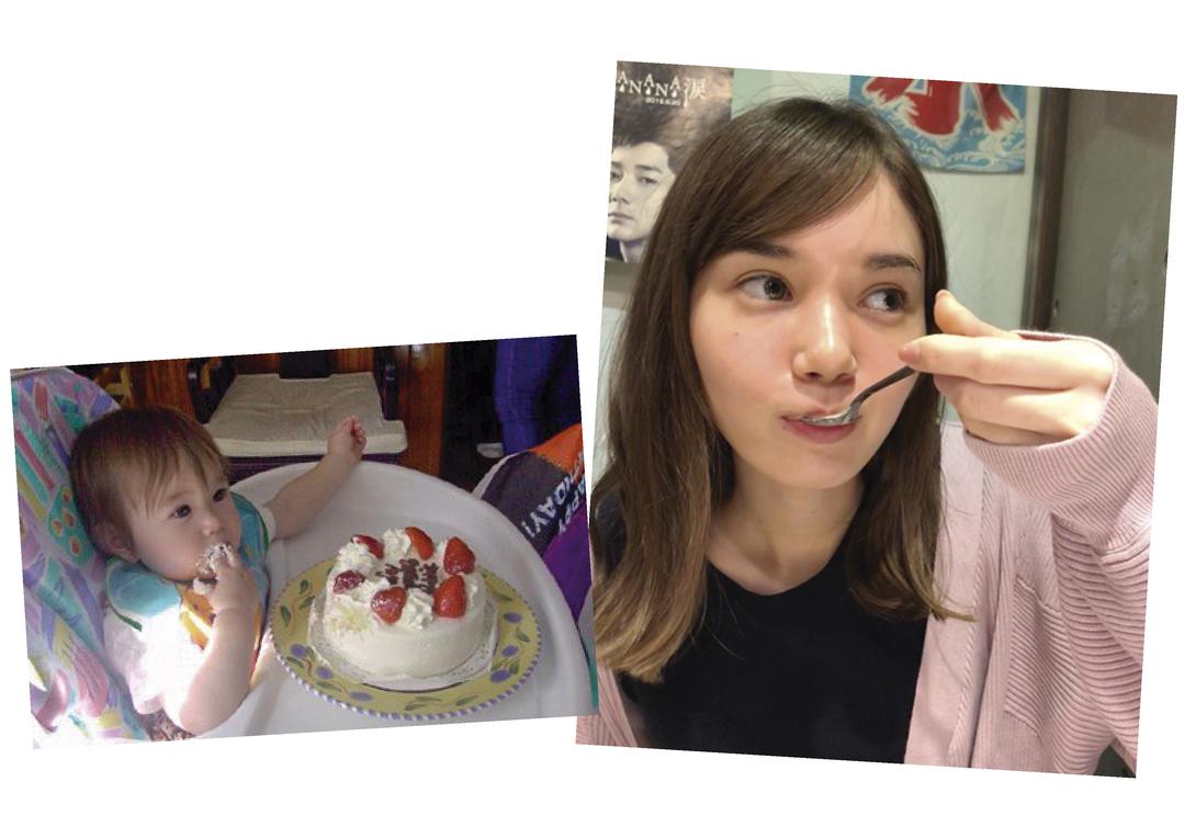 マーシュ彩ちゃんは「食べることがとにかく好き!」