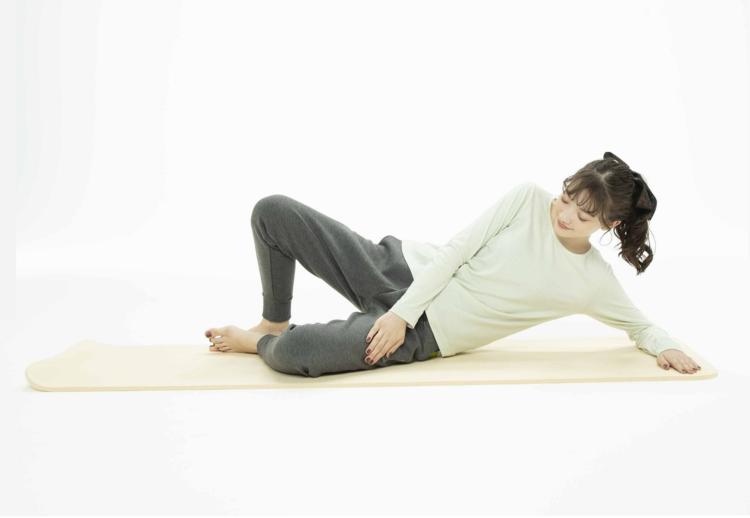 *レベルアップ*姿勢を低くすると腰痛予防にも!