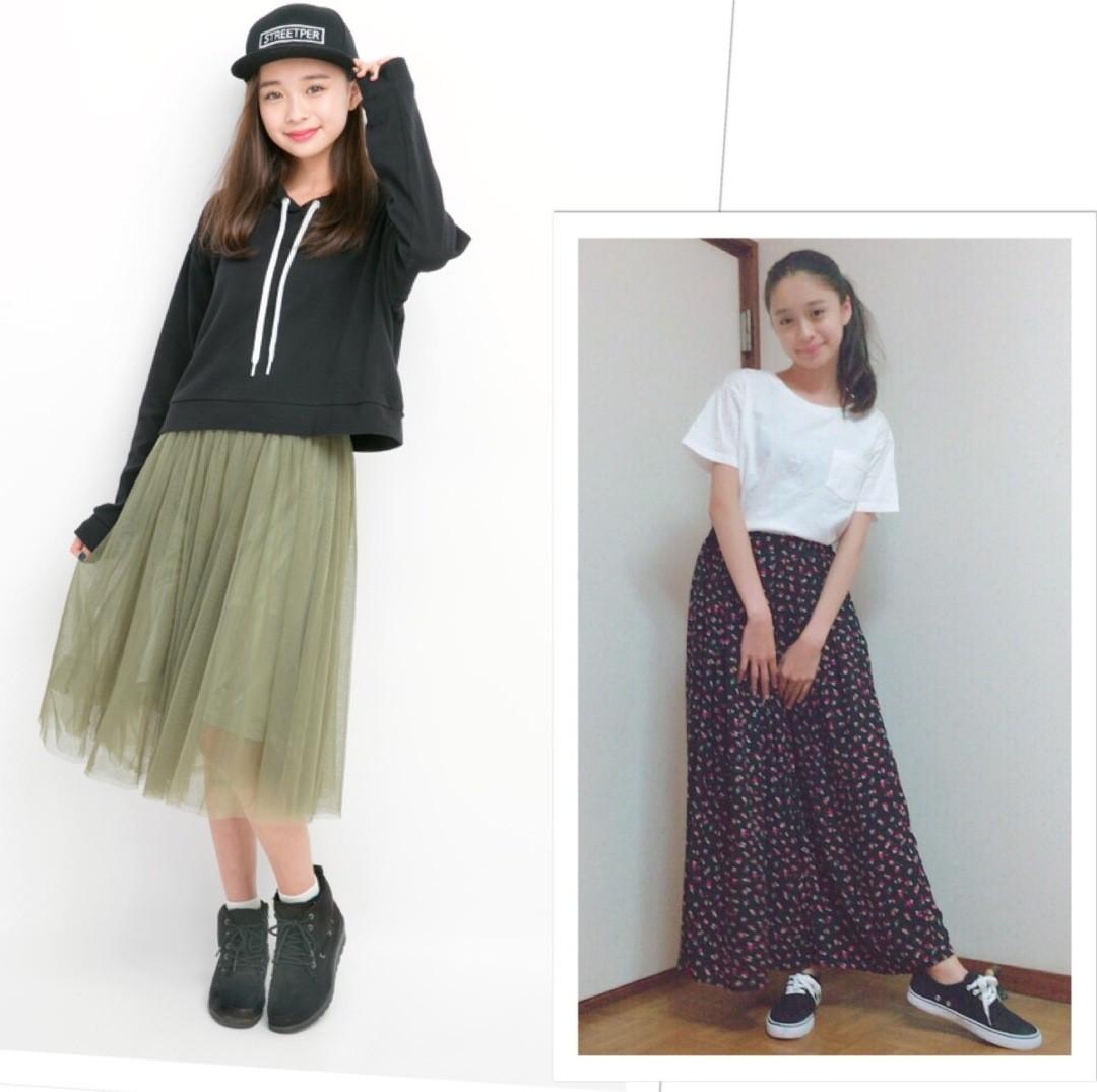 before>>梨々花ちゃんの私服コーデは、たしかに大人っぽすぎる?!