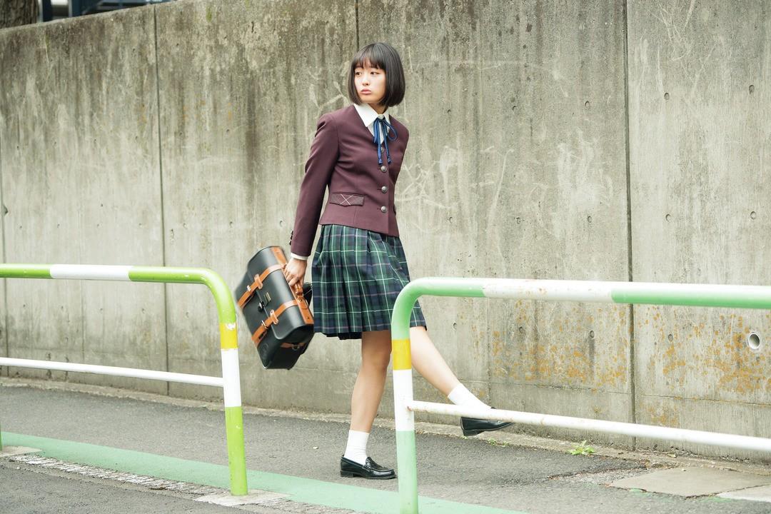 花恋の制服スタイルは「まじめっぽガーリークラシカル」