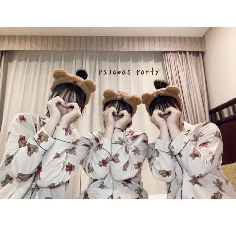 クマ柄パジャマにも注目