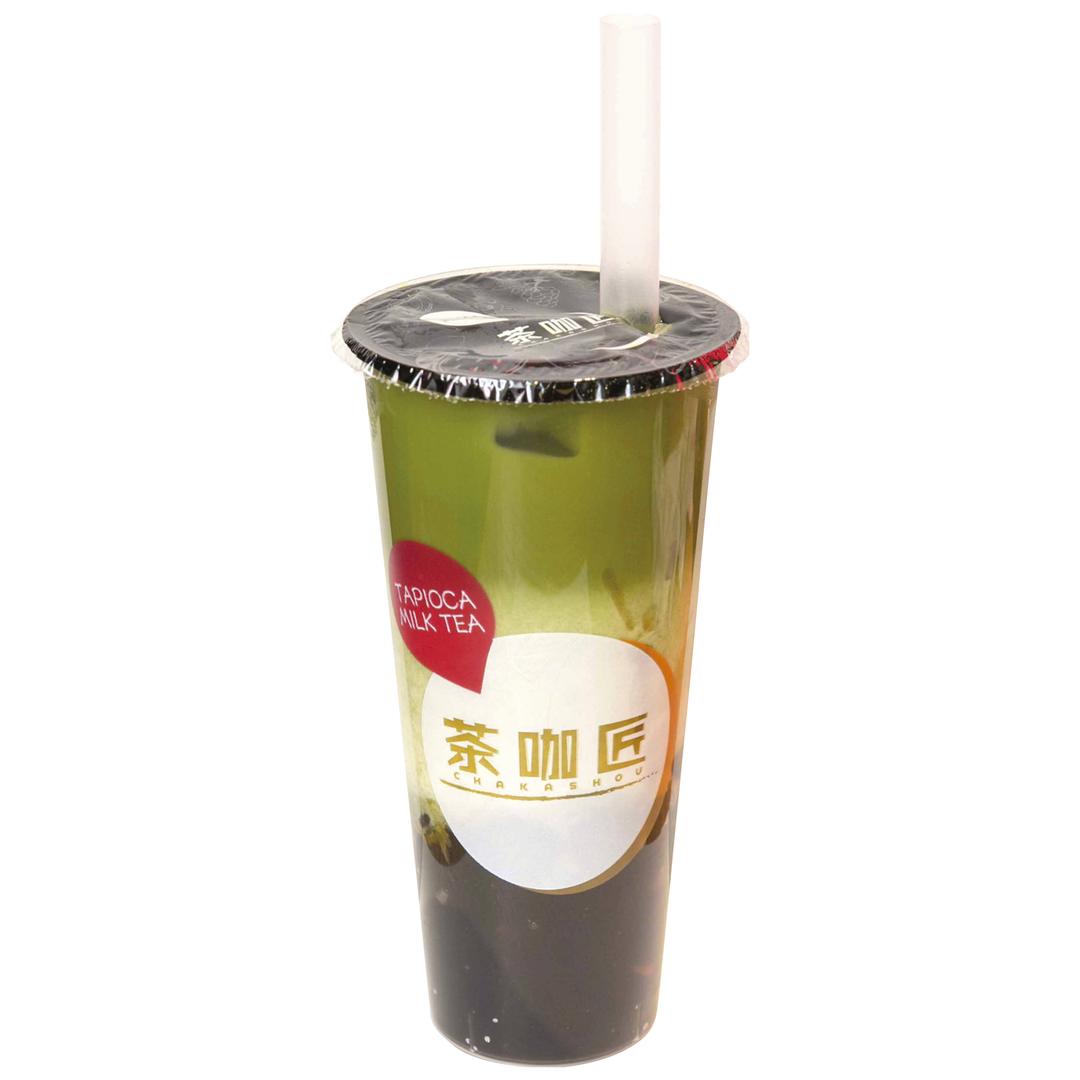 茶咖匠の宇治抹茶黒糖タピオカ