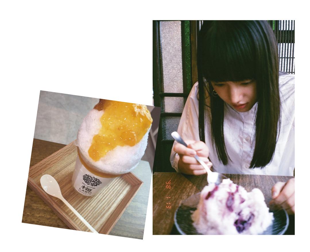 清原果耶ちゃんは「かき氷」