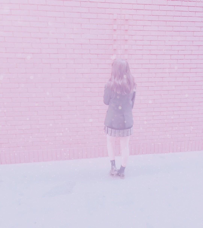♥ピンク&ほわほわ加工