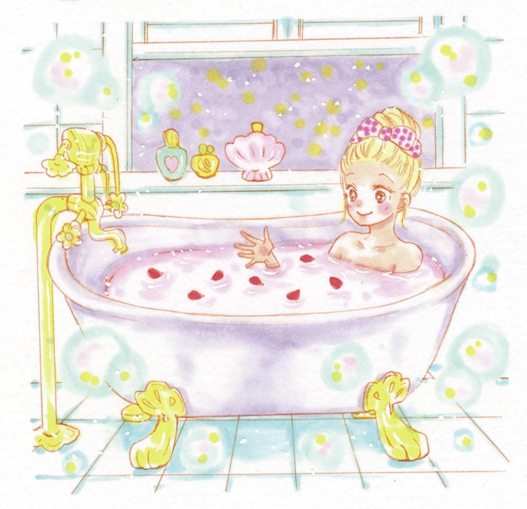 両想いになるための「7枚の花びらを浮かべたお風呂」