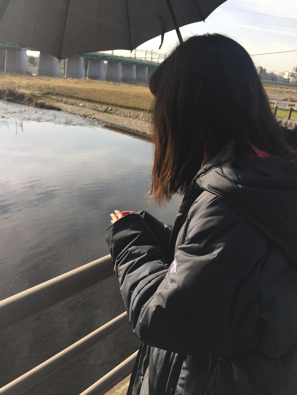 釣り人に話しかける花恋ちゃんのコミュ力!!