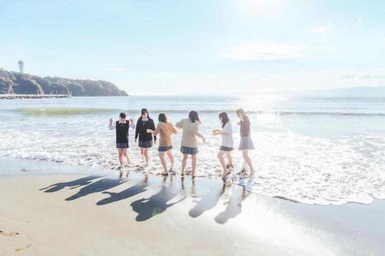 ② 海 × 制服の青春♪