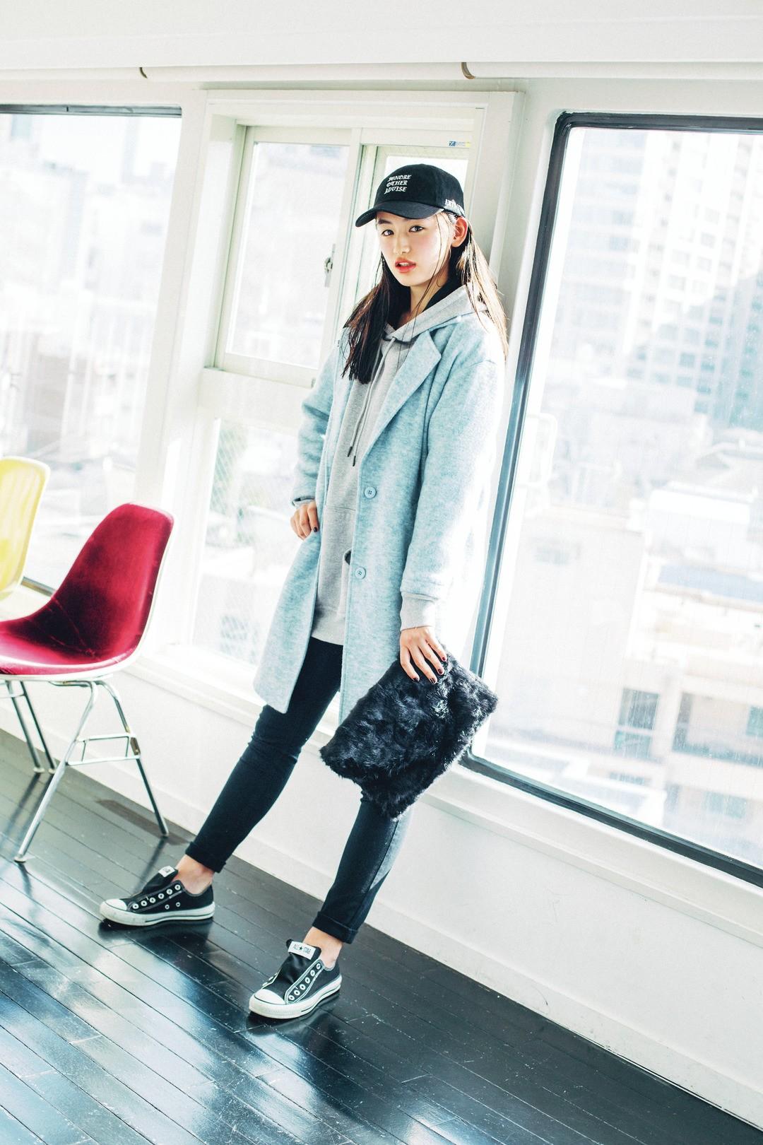 莉可子のJKファッションは?