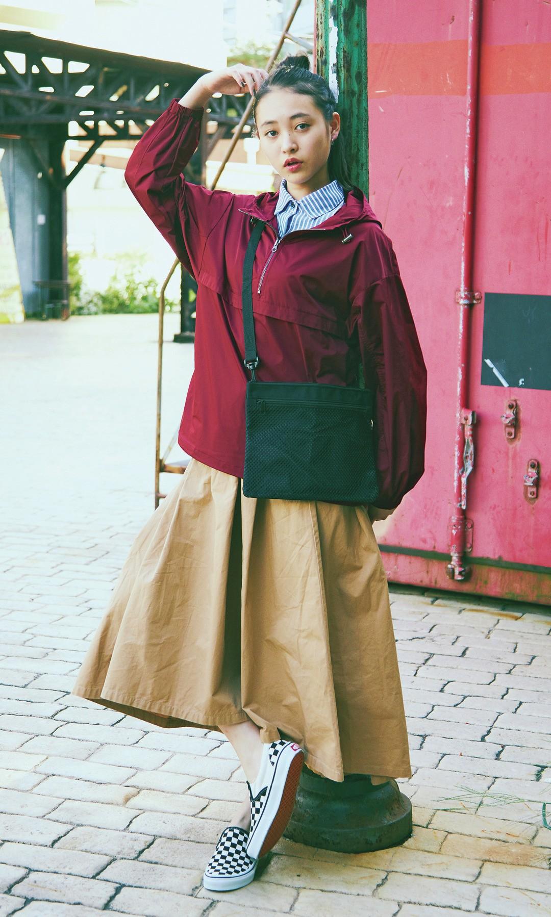 宮野陽名ちゃんは¥2990のマウンテンパーカをセレクト!