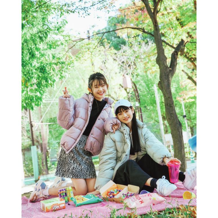 オソロブルゾンでピクニック♡