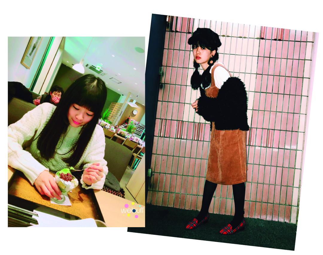 """坂井仁香ちゃんは""""私服の写真と抹茶パフェを食べてる写真"""""""