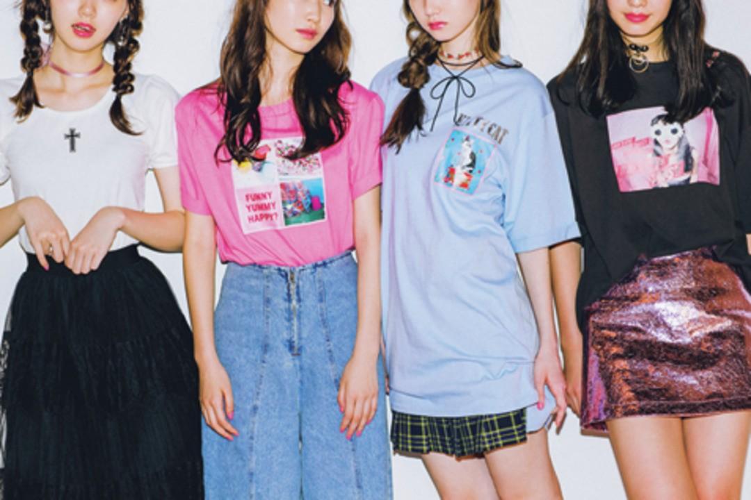 これがSTモデル×BUBBLESコラボTシャツ‼
