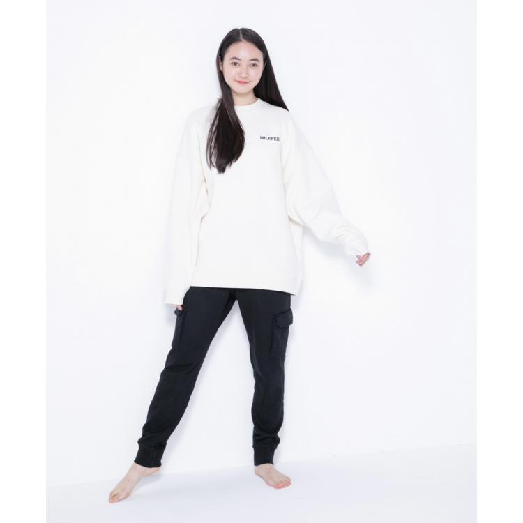 【モテ判定・高】白スエット&黒パンツ byひなごろう