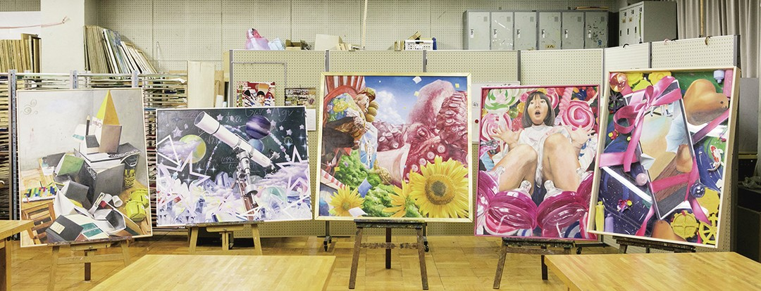 ♥埼玉県高校美術展で3名が入賞、全国大会へ