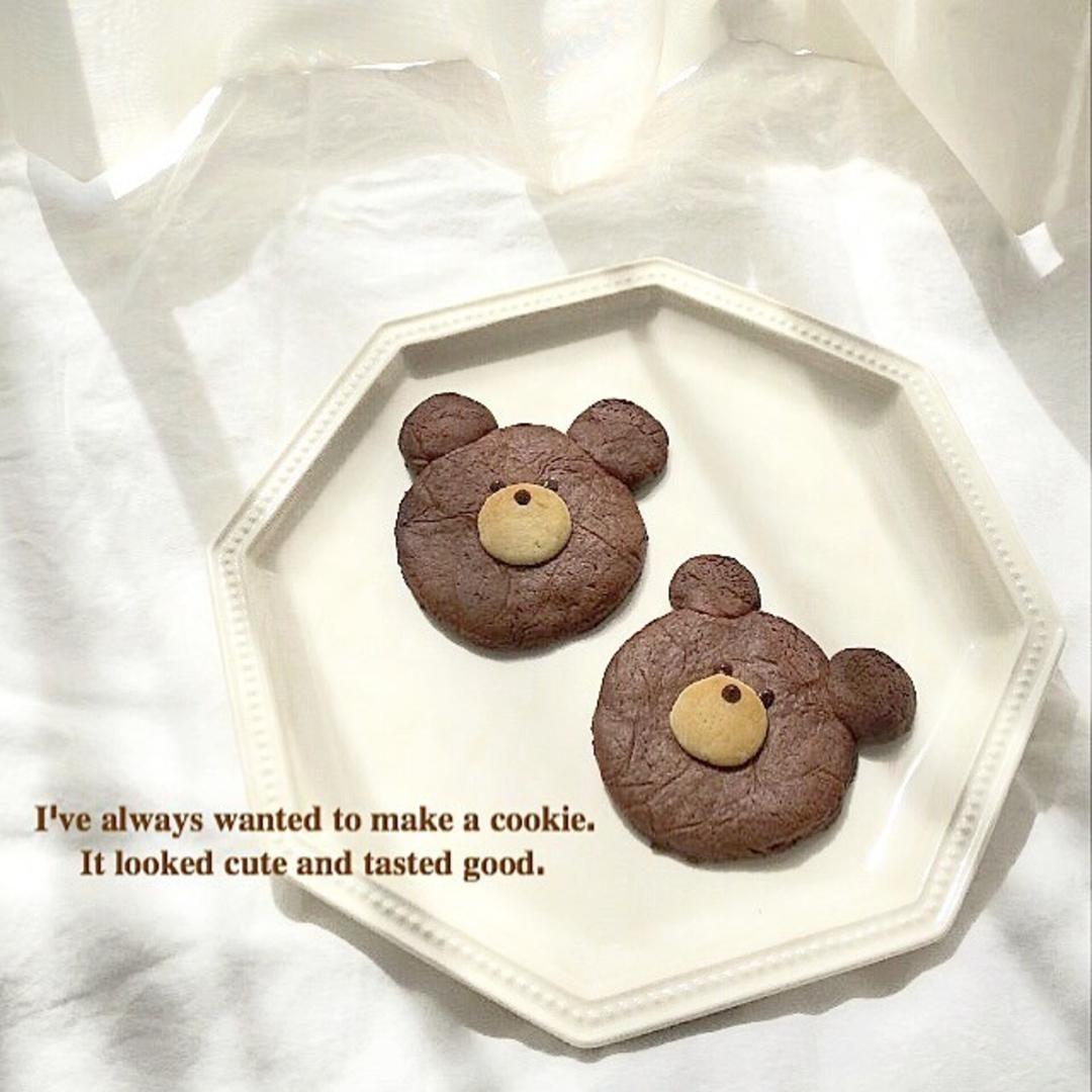 キュートなくまさんクッキー♡