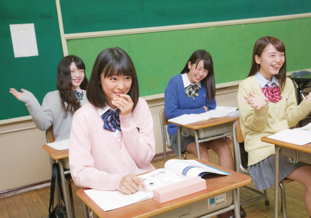 保体の授業中はひかえめに笑う