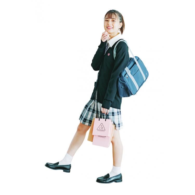 放課後に買い物に行く