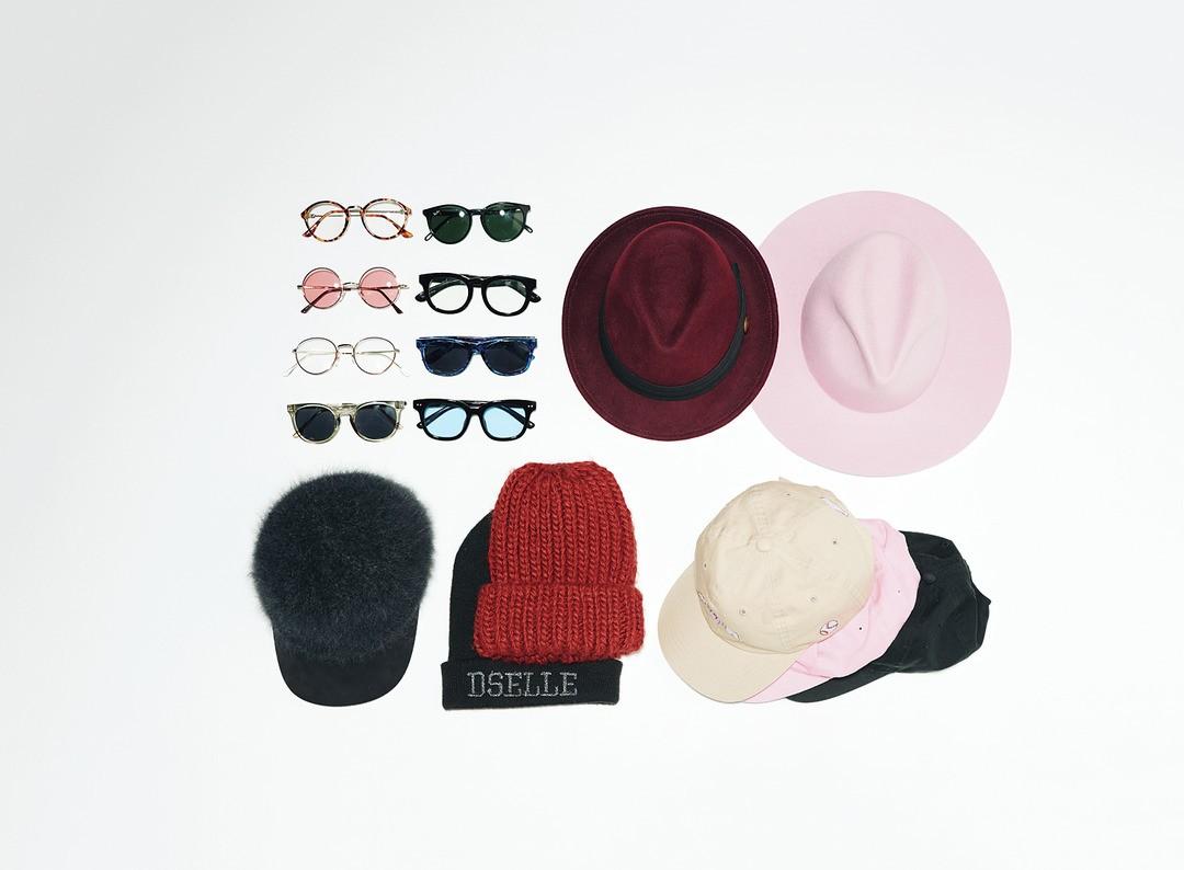 メガネと帽子LOVE♥