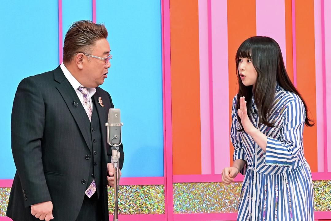 桜井日奈子ちゃんがサンドウィッチマンの伊達さんと完コピネタを披露!